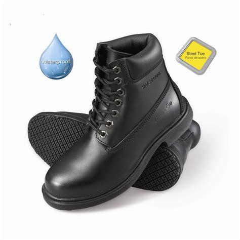 genuine grip s slip resistant waterproof steel toe
