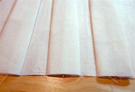 inverted box pleat valance tacked with bronze nail heads how to make a box pleat curtain valance curtain