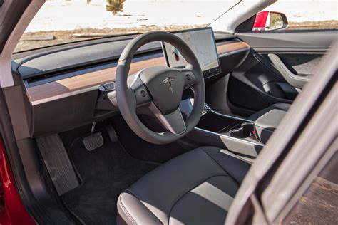 Tesla Interior Pictures Tesla Model 3 10 Things You Need To Motor Trend