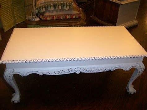 the french flea ornate shabby chic coffee table 75 00