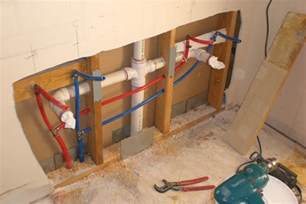 install bathroom plumbing how to install pex pipe to bathroom sink google search