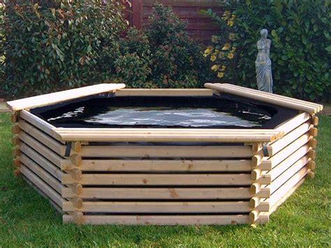 piscina in giardino piscina da giardino in legno