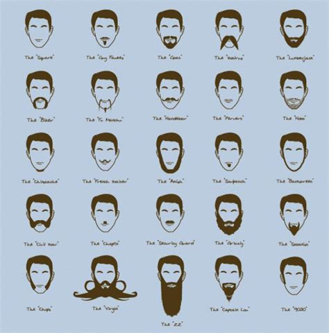 beard style names different beard styles beer coffee and shaving pinterest