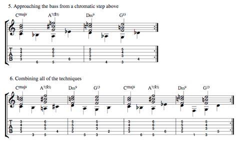 swing bass lines walking bass lines 1 got rhythm truefire blog