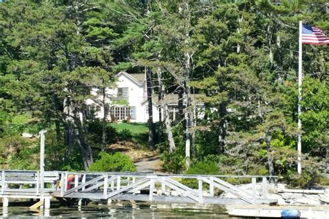 maine air bnb maine family vacation coastal estate with dock houses