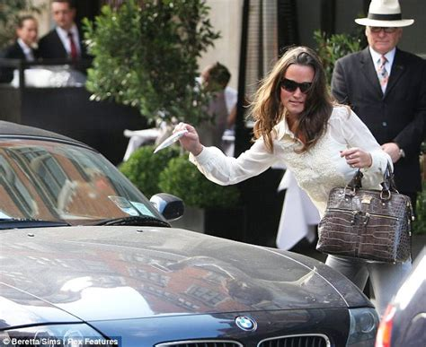 where does kate middleton live pippa middleton slapped with a parking ticket