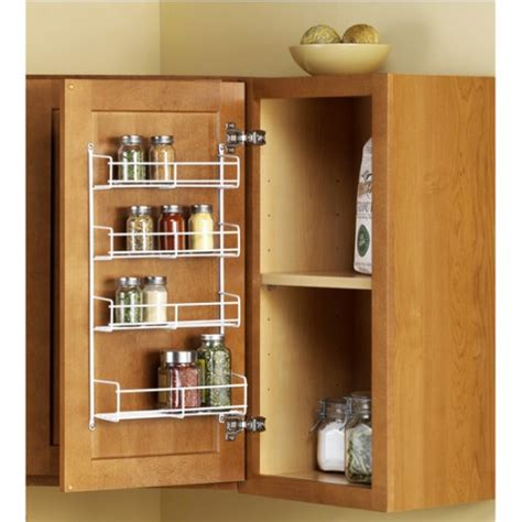 inside cabinet door spice rack craftionary