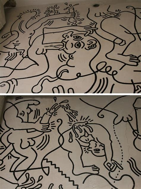 Keith Haring Bathroom by 25 Best Ideas About Lgbt Center Nyc On Butch Androgynous And Hair