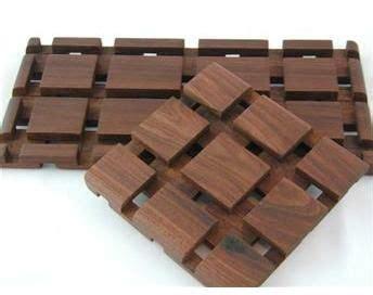walnut wood trivet woodwork projects pinterest