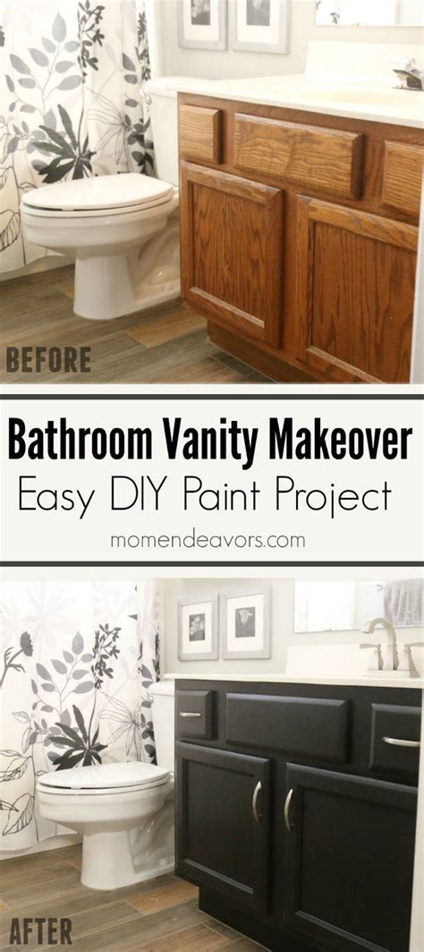 bathroom vanity makeover diy best 20 black cabinets bathroom ideas on pinterest