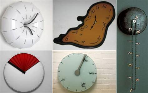 weird wall clocks most unusual and interesting wall clocks hometone home
