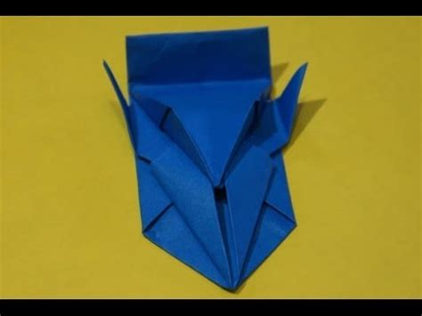 Origami Speed Boat - step by step how to make a paper boat