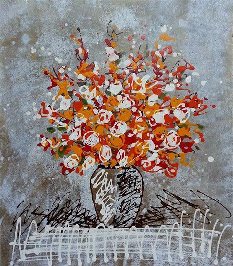 wallpaper bunga lukisan 25 gambar lukisan bunga dan pohon high resolution seni rupa