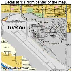 map of tuscon arizona tucson arizona map 0477000