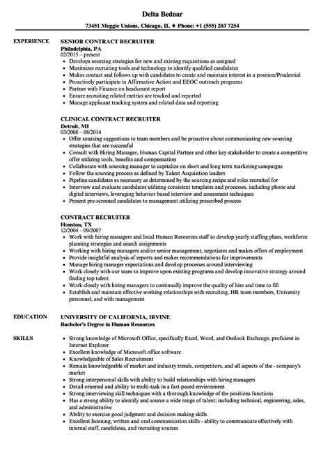 Contract Recruiter Cover Letter by Best Solutions Of Contract Recruiter Efficiency Expert Cover Letter