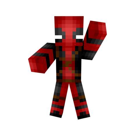 Minecraft Papercraft Deadpool - deadpool minecraft skin