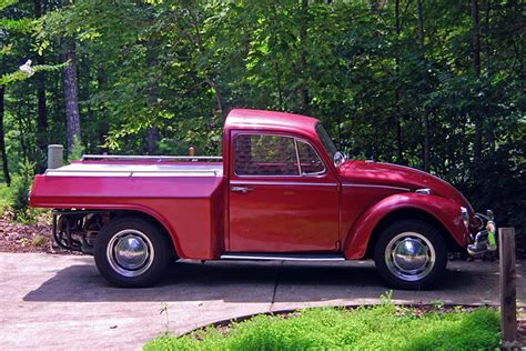 vw truck you can t help but this 1967 vw beetle truck