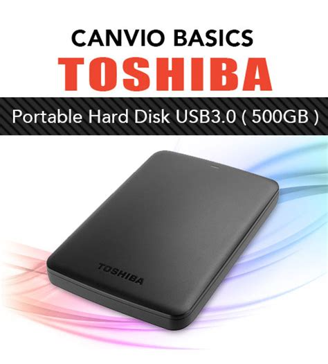 Toshiba Canvio Basic 500gb Usb3 0 toshiba canvio ready basics 3 0 usb portable external