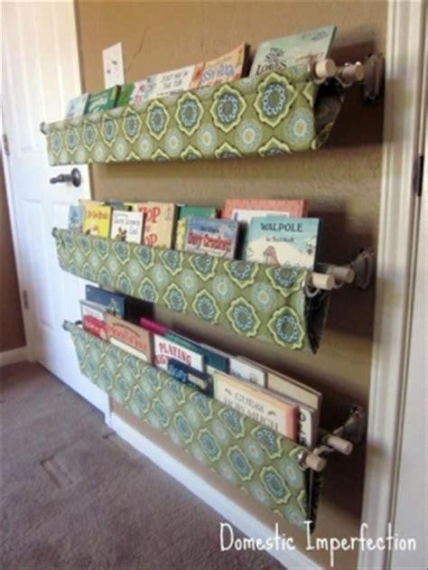 diy book rack home decor for