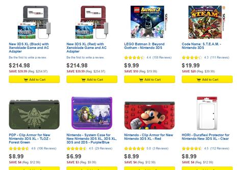 Eshop Gift Card Sale - best buy kicks off new 4 hour sale discounts 3ds items and eshop cards nintendo