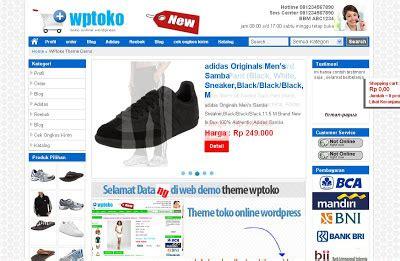 template toko online keren template toko online keren ala wordpress it sasak