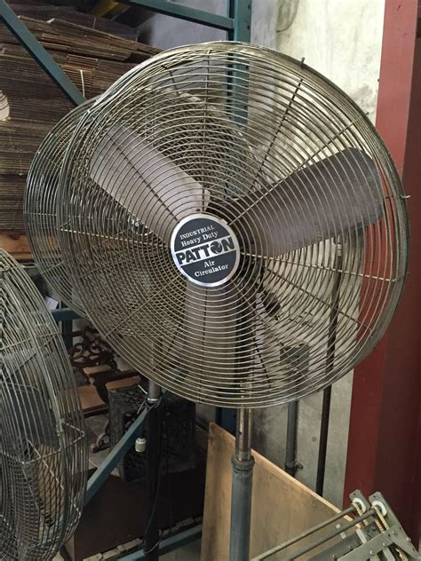 high velocity shop fan lot 22 industrial heavy duty high velocity pedestal shop