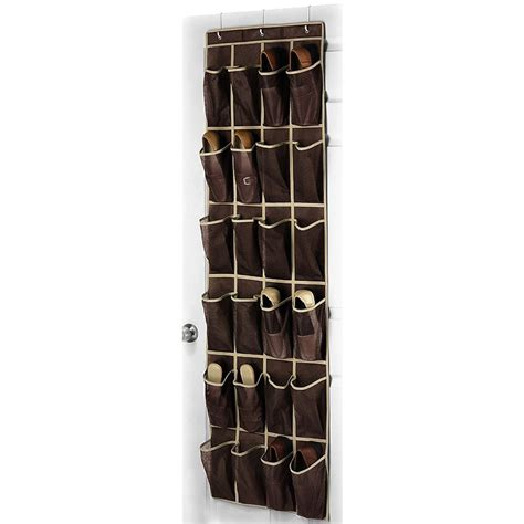24 pockets the door hang 24 pocket shoe hanger home the door hanging organizer