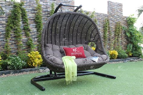 Hängesessel Outdoor by 2016 Korb Synthetische Rattan Pe Outdoor H 228 Ngematte Doppel