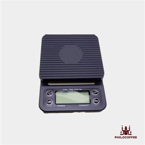 Tiamo Digital Scale With Timer Timbangan Kopi Digital Max 2kg sanbei coffee drip scale with timer philocoffee