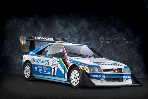 peugeot 405 t16 goodwood greats peugeot 405 t16 pikes peak awesome