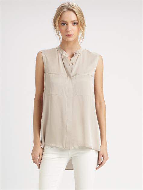 sleeveless blouse sleeveless blouse pics chevron blouse