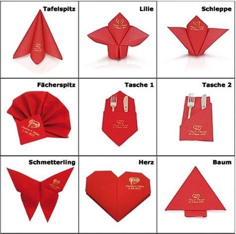servietten falten tasche servietten falten blumen tischdeko servietten falten
