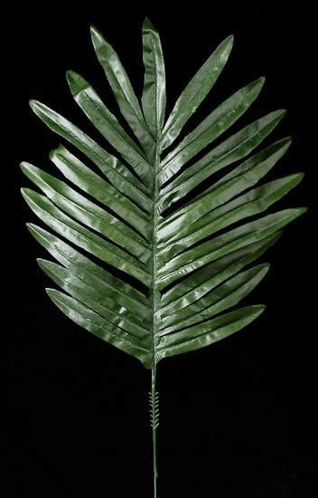 Artificial Silk Emerald Green 16 1 2 quot artificial green silk emerald fern leaves 12 pcs