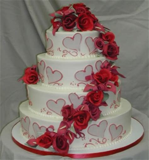Wedding Day Cake by S Day Wedding Cakes