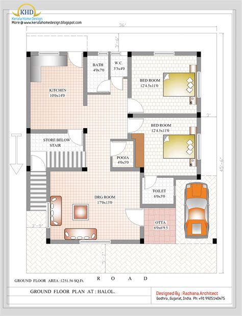 House Plans For Duplexes Three Bedroom by 3 Bedroom Duplex House Plans In India Www Indiepedia Org