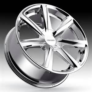 Cruiser Alloy Truck Wheels Cruiser Alloy 922c Kinetic Chrome Custom Wheels Rims