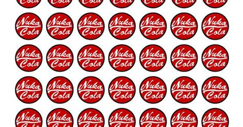 nuka cola cap template fallout nuka cola template for your own bottle caps