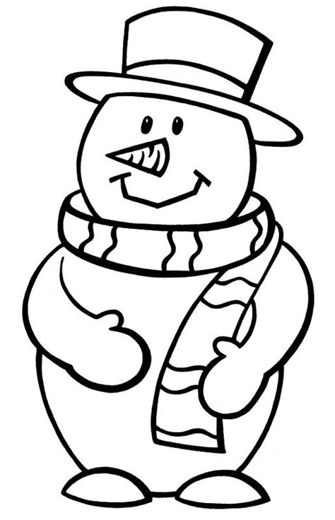snowman coloring pages for preschool preschool coloring pages winter snowman season coloring