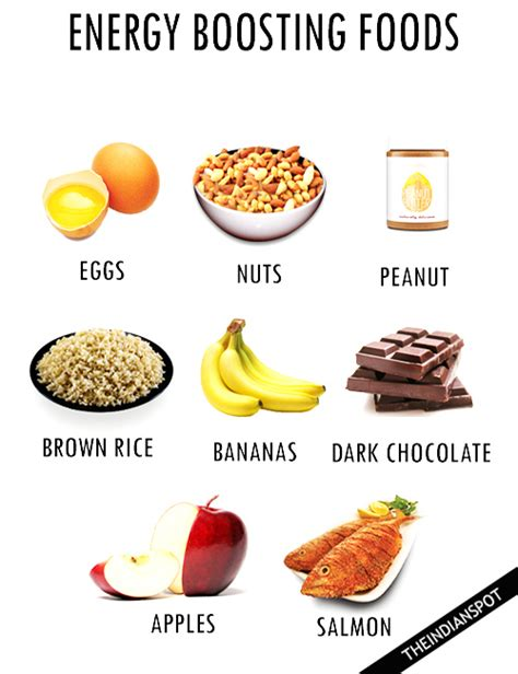 list of energy boosting foods theindianspot com