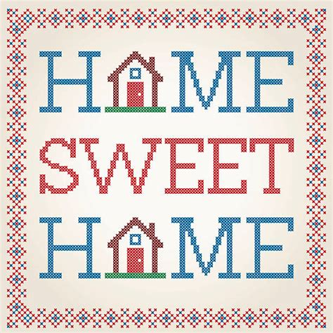 sweet home decoration home sweet home clip vector images illustrations