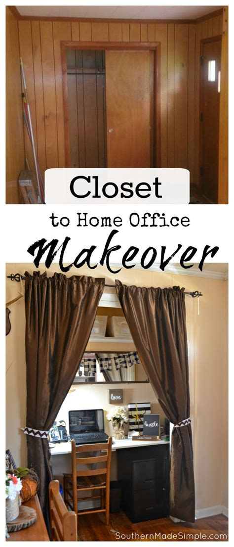 Diy Closet Desk Best 25 Closet Office Ideas On Pinterest Closet Desk Closet To Office And Desk Nook