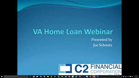 va loan webinar c2 hawaii
