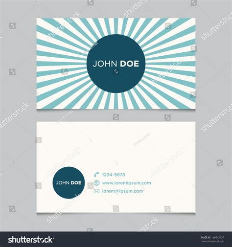 sentence pattern blueprint cards business card template background pattern vector stock