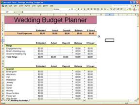 wedding budget template excel 9 wedding budget excel spreadsheet excel spreadsheets