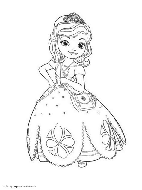 disney coloring pages sofia the first sofia coloring pages to print