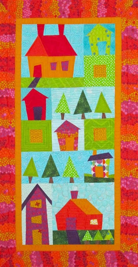 Quilting Classes Minneapolis by Pretty Pieced Houses Quilt Pattern At Cities Quilting