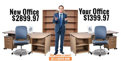 preowned office furniture used office desks chairs