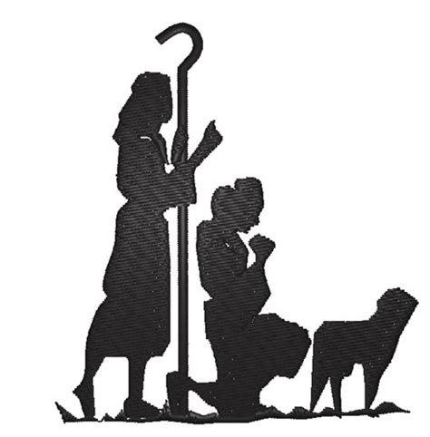 nativity silhouette template search results for nativity silhouette templates