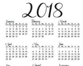 Calendar 2018 At A Glance Year At A Glance Etsy