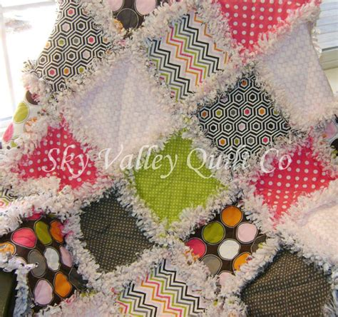 Pre Cut Rag Quilt Kits by Pre Cut Rag Quilt Kit Or Layer Cake Midwest Modern